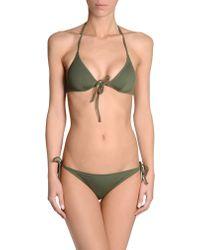Laura Urbinati Green Bikini - Lyst