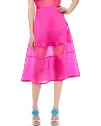 Karla Špetic - Silk Liquid A Line Skirt - Lyst