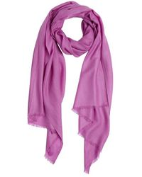 Mir Orchid Purple Cashmere Scarf - Lyst