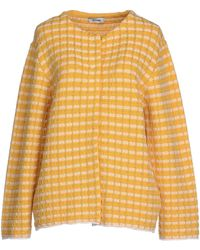 Moschino Cheap & Chic Cardigan yellow - Lyst