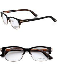Tom Ford 5307 Clubmaster Optical Frames - Lyst