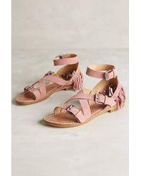 Belle By Sigerson Morrison Allegra Sandals pink - Lyst
