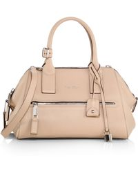 Marc Jacobs Small Smooth Leather Incognito Satchel - Lyst