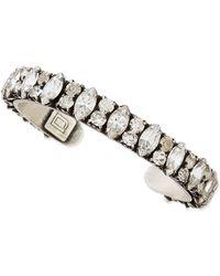 Dannijo Alla Crystal Bracelet - Lyst