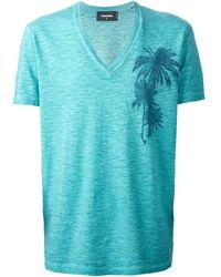 DSquared2 Palm Print T-Shirt - Lyst