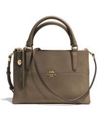 Coach The Mini Borough Bag in Saffiano Leather - Lyst