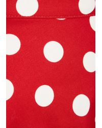 Rock Steady/steady Clothing In - Bugle Boogie Skirt In Red Dots - Lyst