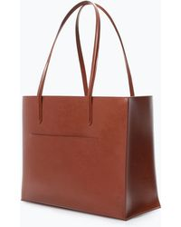 Zara Shopper Bag with Pocket - Lyst