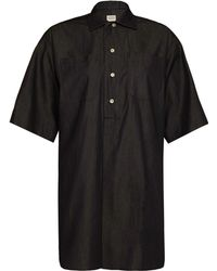 E. Tautz - E.Tautz Womens Whitby Denim Shirt - Lyst