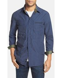 Victorinox - 'branson' Tailored Fit Water Repellent Shirt - Lyst