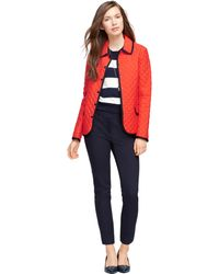 Brooks Brothers Quilted Jacket - Lyst