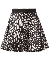 Fausto Puglisi Printed Flared Skirt - Lyst