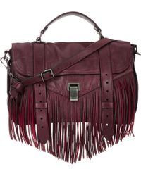 Proenza Schouler Ps1 Medium Shoulder Bag red - Lyst