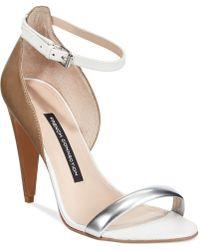 French Connection Nanette Ankle Strap Dress Sandals - Lyst