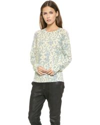 Wildfox Toile Sweater   - Lyst