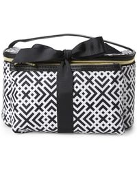 Adrienne Vittadini - Square 2-Piece Cosmetic Bag Set - Lyst