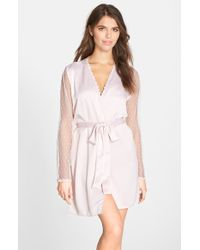Flora Nikrooz 'Showstopper' Robe - Lyst