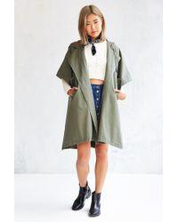 BDG - Military Poncho Jacket - Lyst