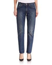 Acne Studios Boy Boyfriend Jeans blue - Lyst