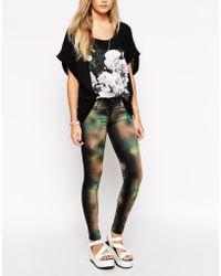 Wildfox Marianne Celestial Skinny Jeans - Lyst