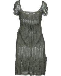 Ermanno Scervino Knee-Length Dress - Lyst