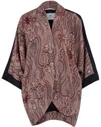 Day Birger Et Mikkelsen Pink Anglian Paisley Print Kimono Jacket - Lyst