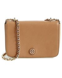 Tory Burch 'Robinson' Leather Shoulder Bag - Lyst