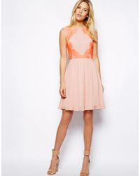 Ted Baker Dress in Lace - Lyst