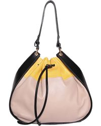 Sonia Rykiel Hobo Gautier Leather Bag - Lyst