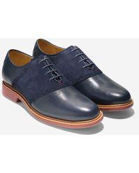Cole Haan Great Jones Saddle blue - Lyst