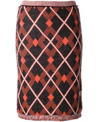 Aimo Richly - Tweed Skirt - Lyst