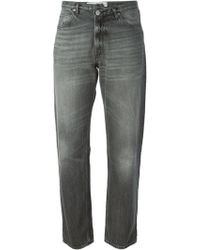 Golden Goose Deluxe Brand Gray Boyfriend Jeans - Lyst