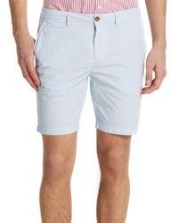 Burberry Brit Cotton Shorts blue - Lyst