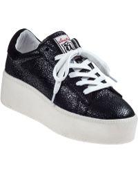 Ash Cult Platform Sneaker Black Leather black - Lyst
