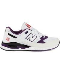 New Balance White 530 Sneakers - Lyst