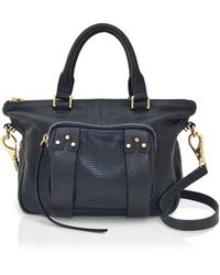 She + Lo - Next Chapter Perforated Mini Satchel - Lyst