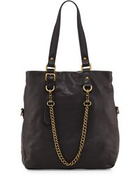 Ash Ziggy Leather Tote Bag - Lyst
