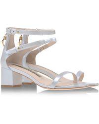 Kat Maconie Sandals silver - Lyst