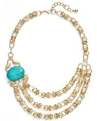 Lilly Pulitzer - 'claws Off' Link Necklace - Lyst