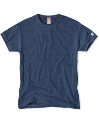 Todd Snyder X Champion | Champion Classic T-shirt In Indigo Mix | Lyst