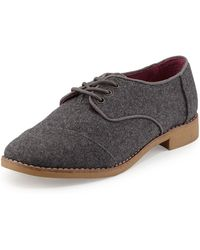 Toms Classic Lace-up Brogue - Lyst