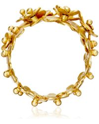 Pippa Small - Gold Flower Ring - Lyst