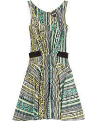 Just Cavalli Snake Print Dress - Lyst