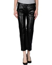 Celine Black Casual Pants - Lyst