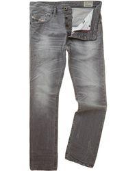 Diesel Braddom 831 Grey Slim Leg Jeans - Lyst