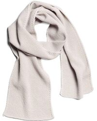 String Theory Rice Merino Wool Scarf In Sand - Lyst