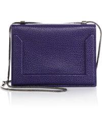3.1 Phillip Lim | Soleil Mini Leather Chain Crossbody Bag | Lyst