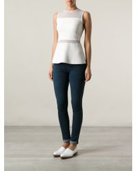 Helmut - 'wren' Denim Leggings - Lyst