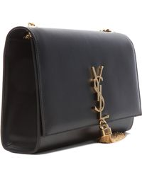 Saint Laurent Monogramme Medium Tassel Chain Bag - Lyst
