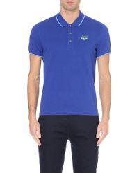 Kenzo Cotton-piqué Polo Shirt - Lyst